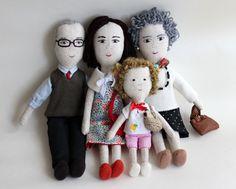 character dolls- families - Matilde Beldroega