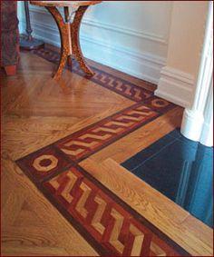 Victorian Border. Premium Wood Flooring & Design