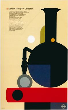 Poster by Tom Eckersly for British Rail (1961), at the London Transport Museum