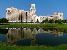 Waldorf Astoria Ras al Khaimah resort offers luxury in Ras al Khaimah near Dubai. Enjoy the beach, golf, restaurants and spa. Hilton Hotels, Hotels And Resorts, Best Hotels, Luxury Hotels, Luxury Spa, Eid Break, Boca Resort, Honeymoon Hotels, Living In Dubai