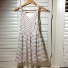 Altar'd State Striped Dress Only worn once!! Great for summer days!! FEEL FREE TO MAKE ME AN OFFER!!! Altar'd State Dresses Mini