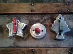 Old Fashion Cookie Cutter Tins / Antique Cookie by Lauralous