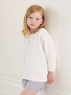 White Shirt: tunic pattern for children at Laughing Hens