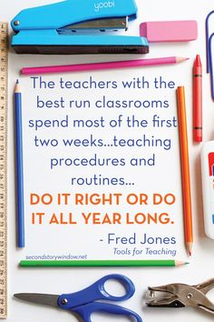 Another pinner: Back to School: Guided Discovery of School Tools. Put in the work at the beginning of the year to teach these procedures and reap the benefits all year long. Teaching Procedures, Classroom Procedures, Classroom Tools, Classroom Behavior, School Classroom, Classroom Management, Classroom Ideas, Behavior Management, Future Classroom