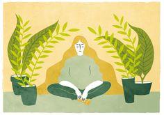 SILVIA REGINATO ILLUSTRATIONS — Living with plants Buy the print here