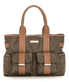 Brown Zoey Diaper Bag #zulily #zulilyfinds