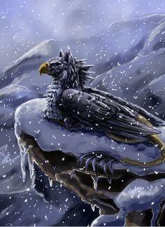 Silver's Winter Morning by *SilverFlight on deviantART