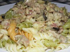 Karcsi főzdéje: Kapros csirke padlizsánnal