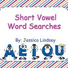 This product has word searches for the a, e, i, o, and u vowels. There is an easy word search for each vowel, along with a more difficult word sear...