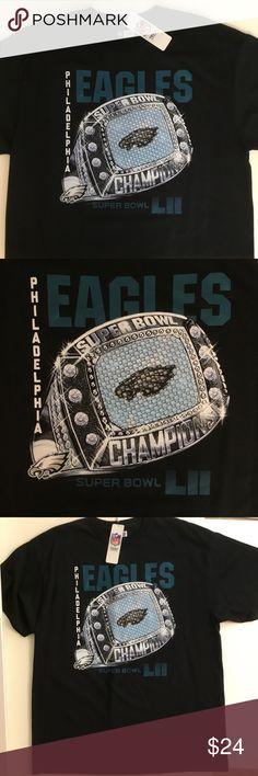 c85009ebc4e765 Philadelphia Eagles Super Bowl Ring Shirt XL XXL Philadelphia Eagles Super  Bowl LII Ring Champion T