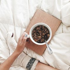 I postedthis photo on instagram last weekand was surprised at how many people were interested in having me share the recipe to this granola! It's a family recipe, passed down to me from my mothe...