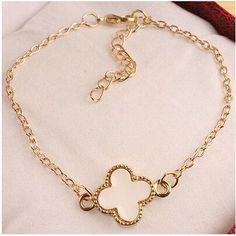 Infinity 8 Heart Flower Bracelet