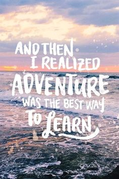 Travel Quotes | Life's best lessons come from outside of your comfort zone. #TravelQuotes