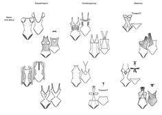 S/S 14 swimwear: women's key item matrix