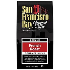 San Francisco Bay Coffee, French Roast- Ground, 12 Ounce * Read more details by clicking on the image.