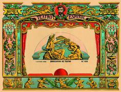 1026 [2] Embocadura de Teatro. Lit. Hijos de Paluzie. BCN (1901)