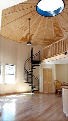 California Yurts inc. home Building A Yurt, Building A House, Wooden Yurts, Round House Plans, Yurt Interior, Yurt Home, Yurt Living, Silo House, Dome House