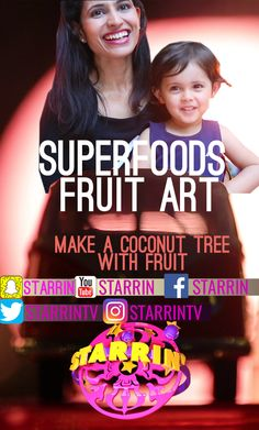 Superfoods. Learn how to make the best with #Daria. discover the ultimate superfood recipes. Hang out with Daria on her show! #TimeOutDaria  The youngest host.  legendary recipes #legendary #recipes only on #TimeOutDaria on the YouTube channel Starrin' www.youtube.com/Starrin