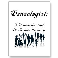 Shop Funny Genealogy Postcard created by Ancestry. Family Tree Quotes, Family History Quotes, Genealogy Quotes, Family Genealogy, Free Genealogy, Family Tree Chart, Family Trees, General Quotes, Family Research