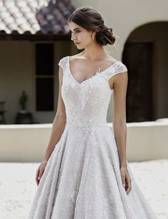 The gorgeous 'Scarlette' wedding dress by Jack Sullivan Designs coming to Instyle Bridal in June Princess beaded lace bridal gown. Bridal Gowns, Wedding Dresses, Beaded Lace, Bridal Collection, Designer Dresses, Princess, Wedding Stuff, Wedding Ideas, Style