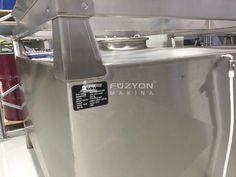 2000-4000 litre Paslanmaz Çelik Depolama tankları   Füzyon Makina