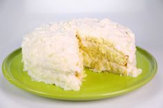 Coconut Layer Cake by Carla Hall.  Make icing day before you bake the cake and the cake needs to be refrigerated overnight once iced.  So plan ahead!