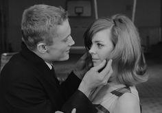 Agnieszka (Barbara Kwiatkowska) i Marek (Daniel Olbrychski) 1967 Jovita