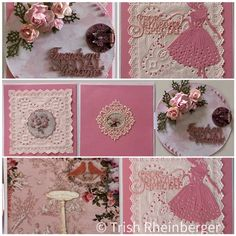 Tri fold card with an assortment of Megs Garden papers Gilding Wax, Tri Fold Cards, Pretty Cards, Paper Roses, Paper Cutting, I Card, Color Change, Garden, Cute Cards