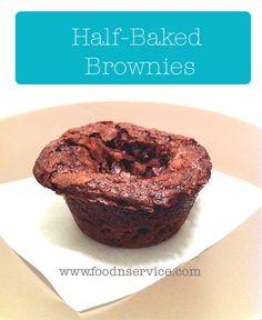 Half Baked Brownie Recipe