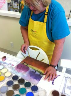 PanPastel painting with Donna Downey