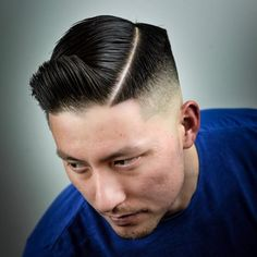 15 Best Gentleman Haircut Styles You'll See in 2020 Long Slicked Back Hair, Side Part Pompadour, Gentleman's Cut, Damp Hair Styles, Long Hair Styles, Short Comb Over, Gentleman Haircut, Kinds Of Haircut, Classic Haircut