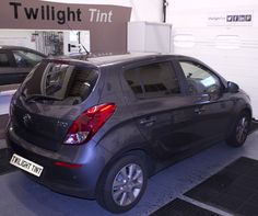 Hyundai I20 with 20% twilighttint shade. - More car window tinting work on Twilight Tint gallery