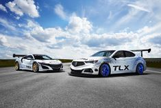 GT3 inspired Acura NSX and TLX to race up Pikes Peak, 2017 - New 2018 TLX A-Spec make racing debut.
