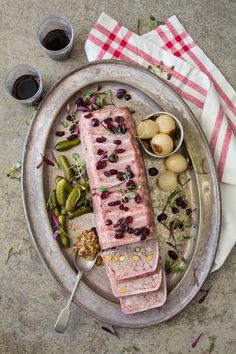 Add a taste of Portugal to next dinner with this Pork terrine with port and pistachios.
