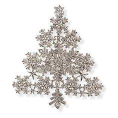 Swarovski Crystal Brooch, Tree Brooch, Crystal Pins, Daniel Lyons