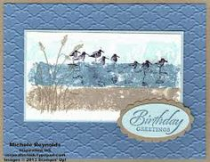 stampin up wetlands - Google Search