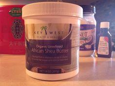 Feeling Fit, Bit by Bit: Review: Key West Organic, Unrefined African Shea Butter