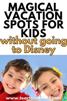 Here are some vacation spots for kids that are as magical as a trip to Disney World! Best Family Vacations, Family Vacation Destinations, Vacation Spots, Family Travel, Europe Travel Guide, Travel Guides, London With Kids, Disney World Trip, Travel With Kids
