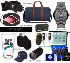 Gift Guide | For Him | Boyfriend Husband Brother
