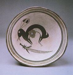 Staff Black-on-White Style III; Classic Swarts Ruin, Mimbres Ceramics