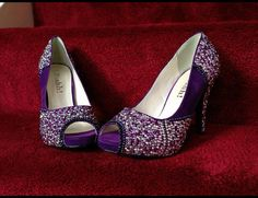 Way expensive but absolutely love them! <3 Rachel's Wish Bridal Shoes by LulusSparkles on Etsy, $241.86