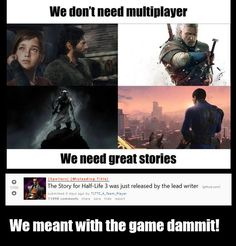 We need great stories...