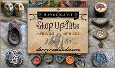 Starry Road Studio: Wanderlust Shop Update on Earth Day: April 22, 2015... starryroadstudio.com