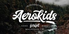 Aerokids font download