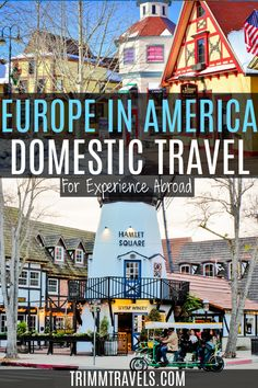 So many destinations to find Europe in America without leaving the country. Architecture, culture, food, activities all here in the USA for true, international adventures! Europe in America | Domestic Travel | Europe in the USA | Travel USA | United States Travel | Travel the United States | Travel America | European Influence in America | Find Europe in the USA | Find Europe in America | #europe #usa #america #travel #domestic