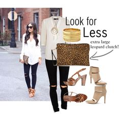 """""""Look for Less"""" by jaimevd on Polyvore"""