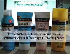 #Win a #Neutrogena Sunscreen prize pack with over $40 in products via www.naturalmentemama.com #NTGbeautifulinsideout #Ad