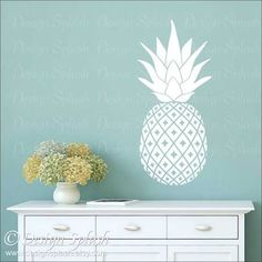 pineapple wall decals - Google Search