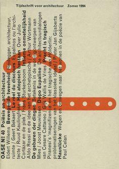 OASE Journal for Architecture - Karel Martens