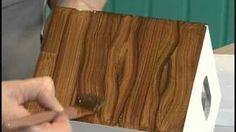 Técnica de pintura que imita madeira! - YouTube